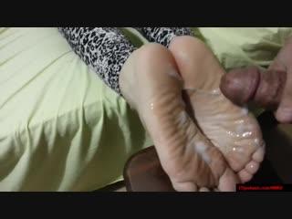Reverse footjob / foot fetish