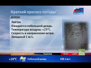 The Weather Channel - Local on the 8's - 11 мая 2019 (09:55)