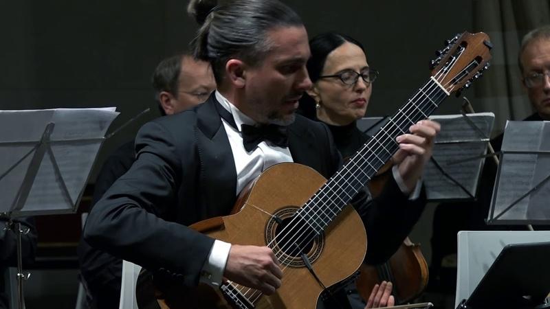 Artyom Dervoed, Yuri Bashmet Moscow Soloists performing Fandango by L. Boccherini