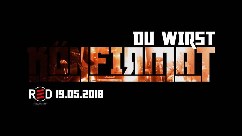 KONFIRMAT Du Wirst Club RED 19 05 2018