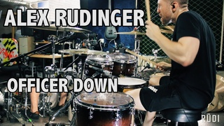 "Alex Rudinger - Bad Wolves - ""Officer Down"""