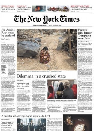 International New York Times - 7 December 2018