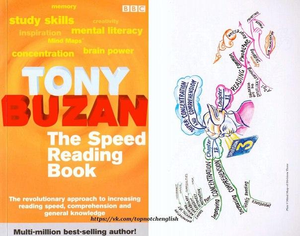 speed reading book - tony buzan