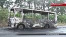 Автобус згорів за лічені секунди у ньому їхало 20 дітей