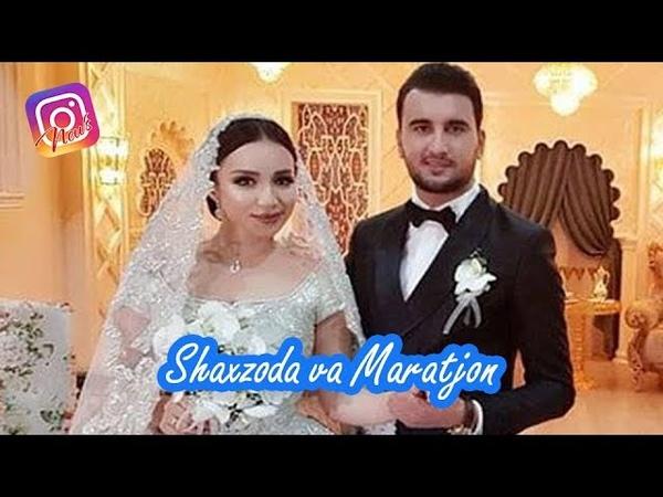 Shahzoda Muhammedova nikoh to'yi insta video