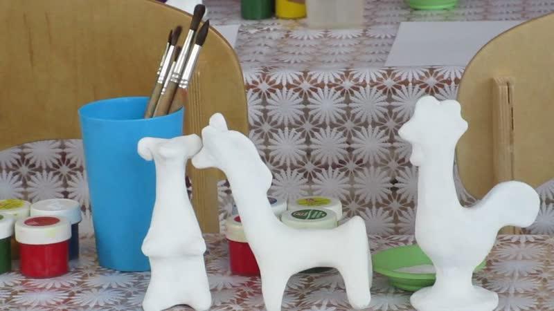 Творческая мастерская в 127 детском садуФилимоновская игрушка_2892