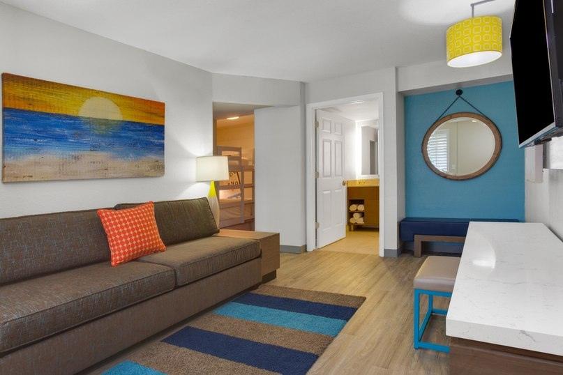 Лучшие отели мира от Soul Travel Holiday Inn Resort Orlando Suites - Waterpark (США), изображение №4