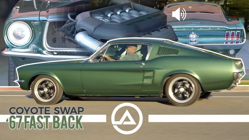 Coyote Swapped 1967 Ford Mustang Fastback
