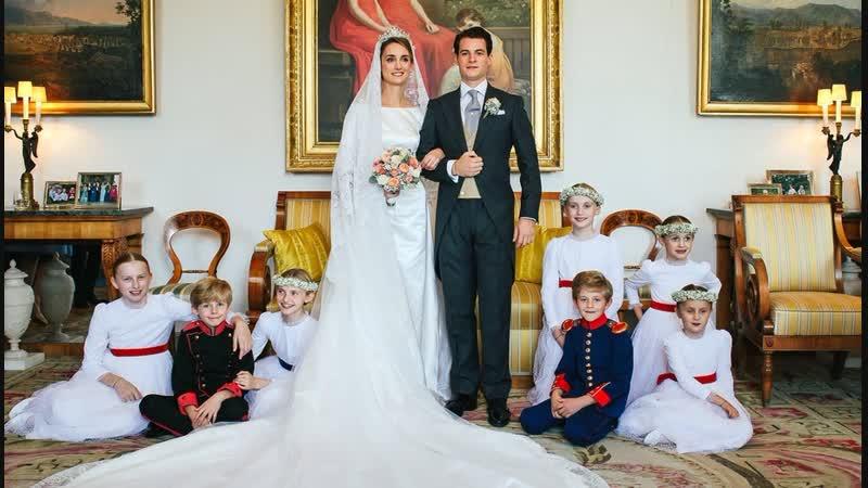 Свадьба герцогини Софи Вюртембергской и графа Максимилена д'Андинье, 20 октября 2018 г.