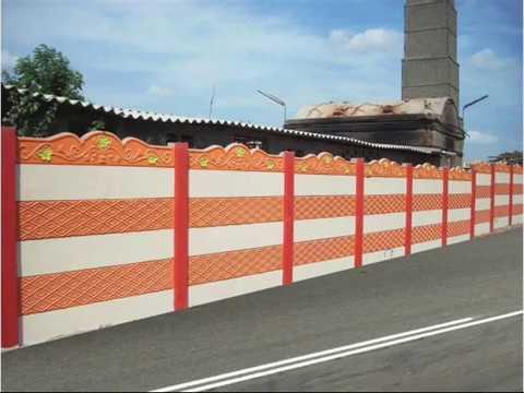 Precast concrete walls Readymade Compound Wall