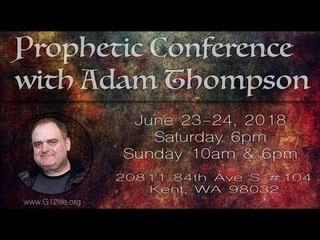 """Прямая трансляция (3 Служение ) Адам Томпсон """"Пророческая конференция"""" Мудрость в толковании снов"""