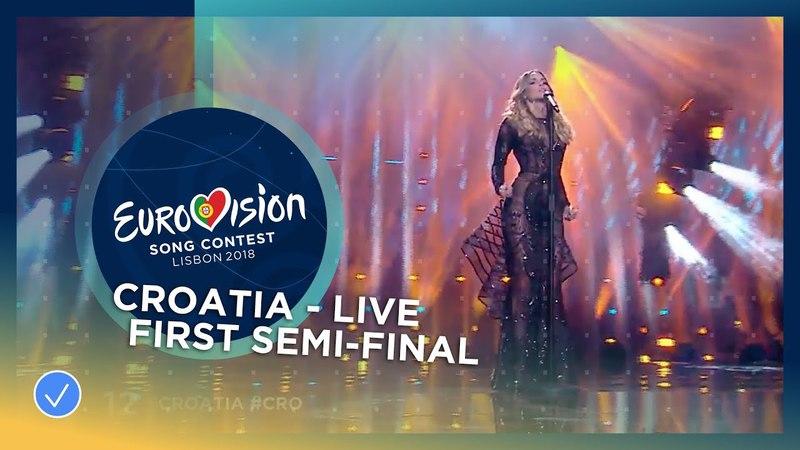 12. Franka (Хорватія) - Crazy | Перший півфінал Eurovision 2018