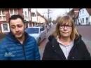 """Flüchtlingshelferin: """"Ich habe zwei....."""" Ein mutiger Einwohner platzt spontan in ein NDR Interview mit einem Flüchtling ein"""