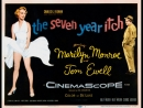 The Seven Year Itch (1955) Marilyn Monroe and Tom Ewell, Evelyn Keyes