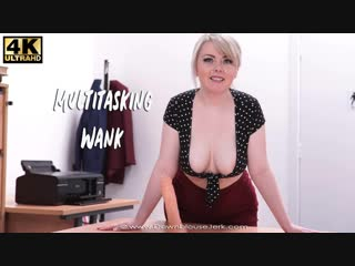 Danni marie - multitasking wank [wank wankitnow strapon dildo jerk off instructions joi cei dirty talk]