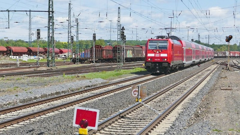 Update II zu den Bauarbeiten im Bahnhof Wabern in Nordhessen...........