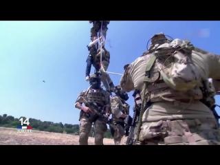 French special forces demo __ démo des forces spéciales 1er rpima et 4e rhfs 1