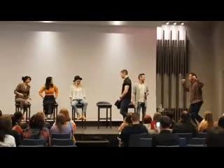 Sense8Con Paris: Tina Desai, Erendira Ibarra, Brian Smith, Michael Sommers, Sandra Fish