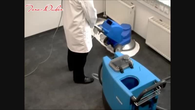 Чистка ковролина методом шампунирования с промыванием, по технологии ECOLAB