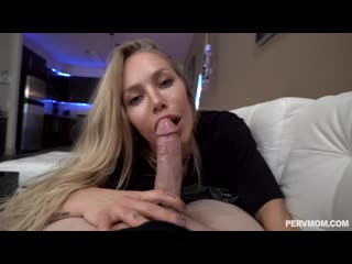 [PervMom] Nicole Aniston - Unclasp Her Stepmom Cooch 2019 (mom milf mature mother big tits boobs creampie blowjob incest)
