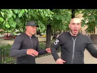 Александр Емельяненко и Вахтанг каландадзе