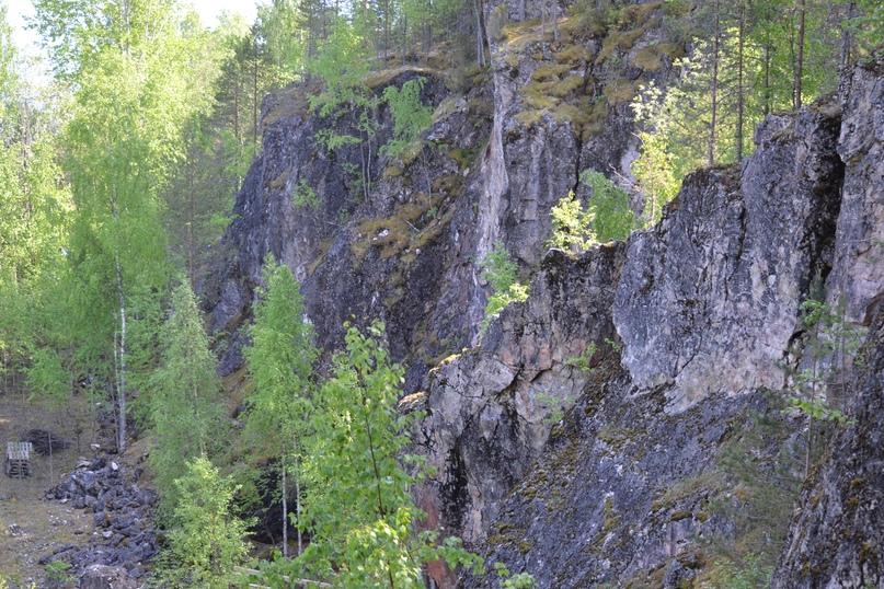 Тивдийские мраморные каменоломни. Автор Борисов И. В., изображение №2