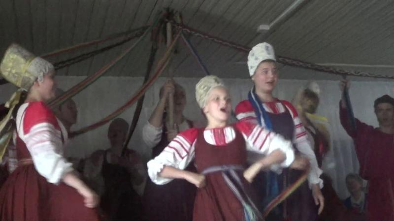 Рудненский каравай Кудесы Фольклорный театр из Новгорода 22 06 2019 3