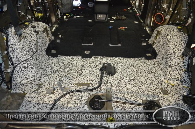 Шумоизоляция Toyota Highlander, изображение №8