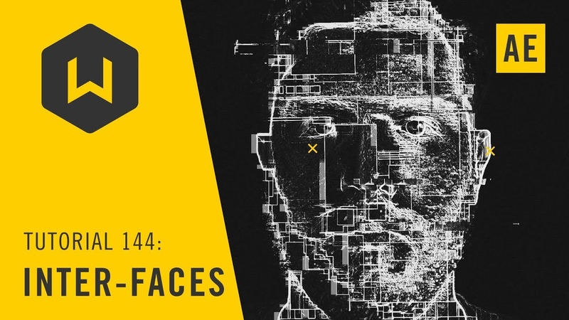 Create a biometric FUI look with a face Tutorial 144 Inter faces