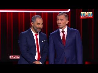 Comedy club — встреча глав россии и армении