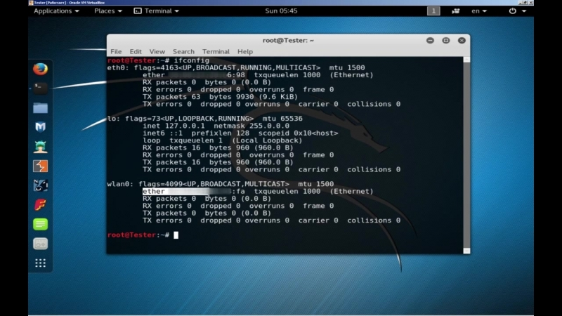 [John Doe] Начало. Маскировка - смена MAC адреса wi fi адаптера