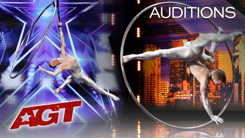 Hoop Aerialist Matthew Richardson SHOCKS You With His Talent America's Got Talent 2019 смотреть онлайн без регистрации