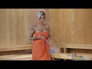 Трахнул блондинку в бане, sex porn fuck milf blond busty mature woman girl love kiss suck lick oil tit ass pussy (hot&horny)