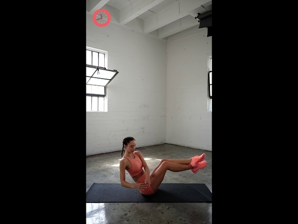 HOURGLASS AB WORKOUT Alexis Ren IGTV