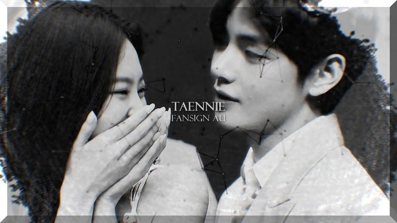 「 jennie x taehyung || fansign au 」