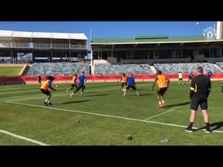 Getting technical at the waca! - - mufc mutour