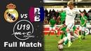 Real Madrid vs Racing Barcelona 4-0 MIC Football U19 Juvenil