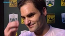 Federer Very Happy To Move Past Fognini In Paris 2018