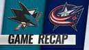 Duchene scores first with Blue Jackets in 4 0 win