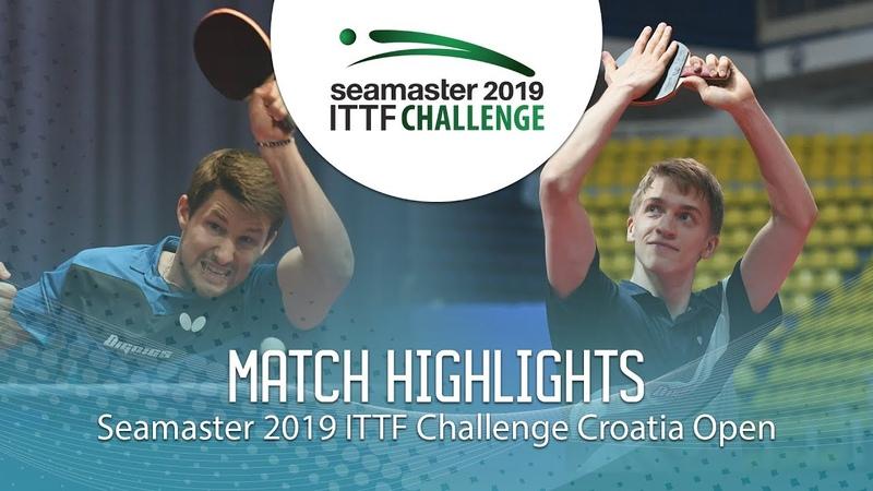 Anton Kallberg vs Kristian Karlsson 2019 ITTF Challenge Croatia Open Final