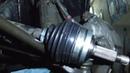 Замена наружной гранаты ВАЗ 2112 ВАЗ 2110 ВАЗ 2111