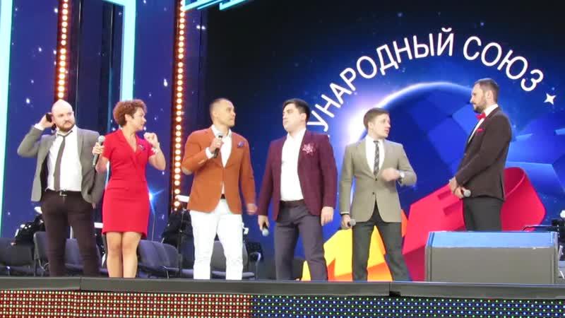КВН команда Союз Тюмень репортаж Витебского курьера
