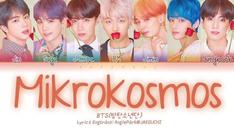 BTS (방탄소년단) - Mikrokosmos (소우주) (Color Coded Lyrics EngRomHan가사)