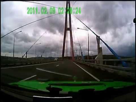 Владивосток о Русский два НОВЫХ моста ЗАПИСЬ проездов на регистратор 14 10 12 г Бит трек