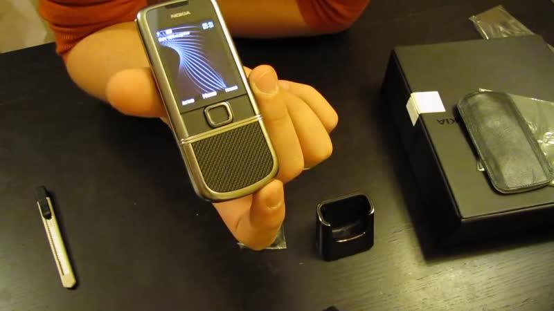 Видео Вся правда о Nokia 8800 carbon Dcz ghfdlf j Nokia 8800 carbon