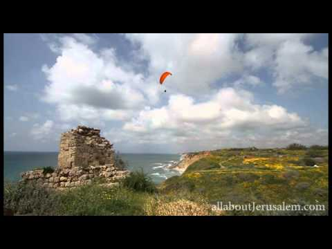 Apollonia National Park in the Holy Land תל ארסוף אפולוניה