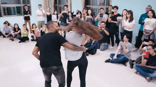 Alex & Mathilde zouk demo in Taipei (Water - Richie Campbell ft. Slow)