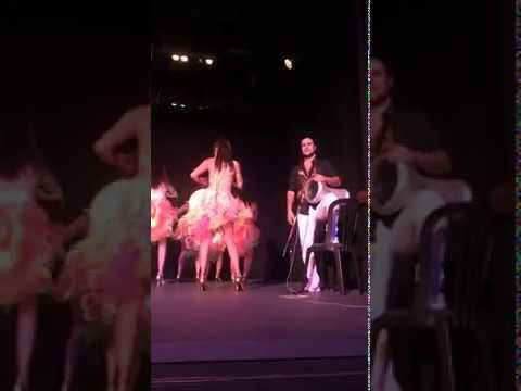 BELLY SALSA - LOOK TILL END 😂😂😂 Artem Uzunov Alejandra Vono Ballet Oriental Glam   Mexico 2019