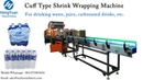 High speed Cuff Type Film Shrink Wrapping Packing Machine for Bottles Film Packer