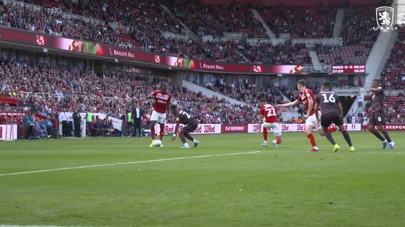 Boro v Reading Inside Matchday